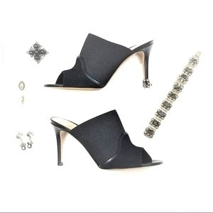 Gianvito Rossi Suede Fabric & Leather  NWT 6.5